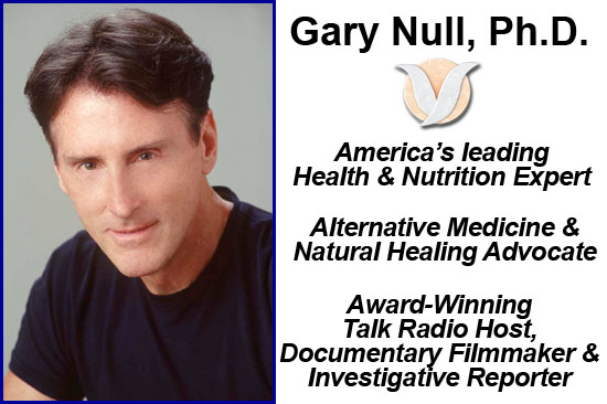 Natural Health Nutritionist Dr. Gary Null